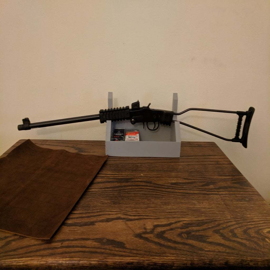 IMG_20191211_215002.jpg Télécharger fichier SCAD gratuit Pistolet à air comprimé et porte-épée avec étagère • Objet pour impression 3D, terraprint