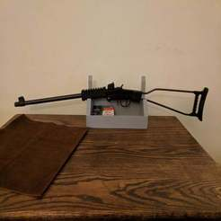 Download free 3D printing files Wall Mountable Gun/Sword Rack with Shelf, terraprint