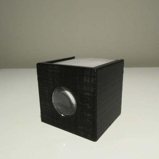 Download free STL file Google Cardboard Lens Tiny Camera Obscura • Design to 3D print, terraprint