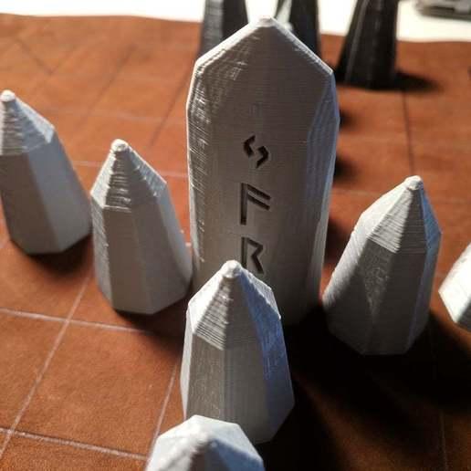 IMG_20190227_090359.jpg Download free SCAD file Hnefatafl Board Game Set • 3D printing design, terraprint