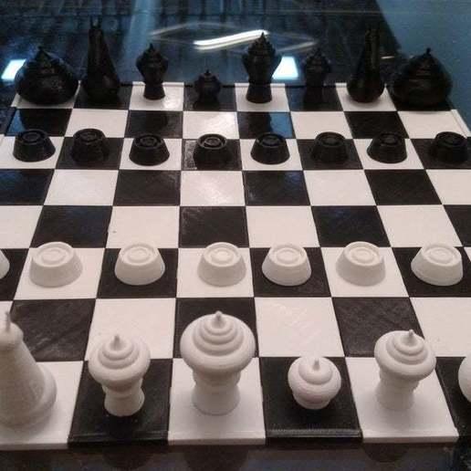 Download gratis STL-bestanden Makruk Thai Chess Set, terraprint