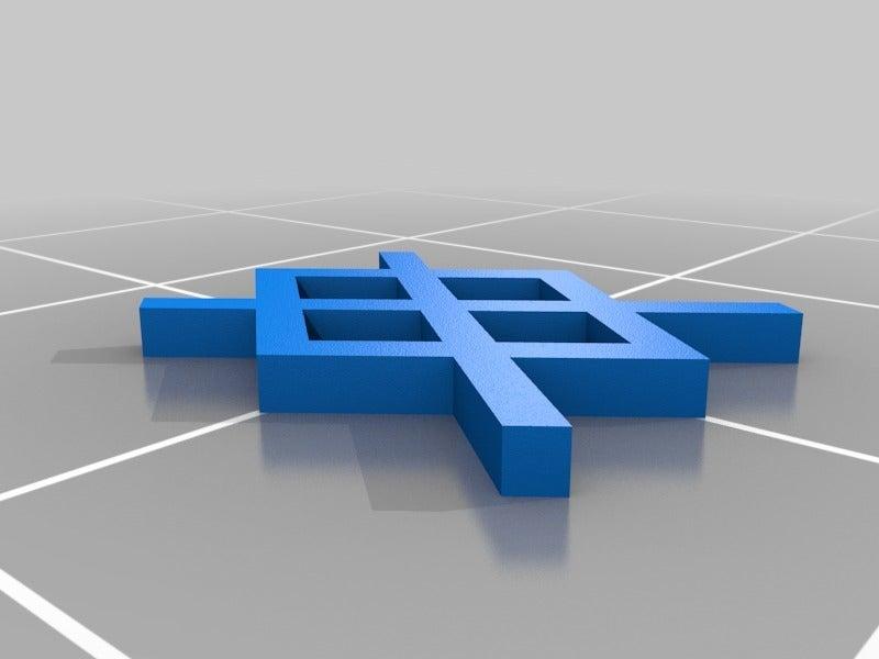 239d4e66142e33855b9c66e933b35854.png Télécharger fichier SCAD gratuit Gungnir - Gar Rune • Plan à imprimer en 3D, terraprint