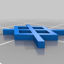 Télécharger fichier SCAD gratuit Gungnir - Gar Rune • Plan à imprimer en 3D, terraprint