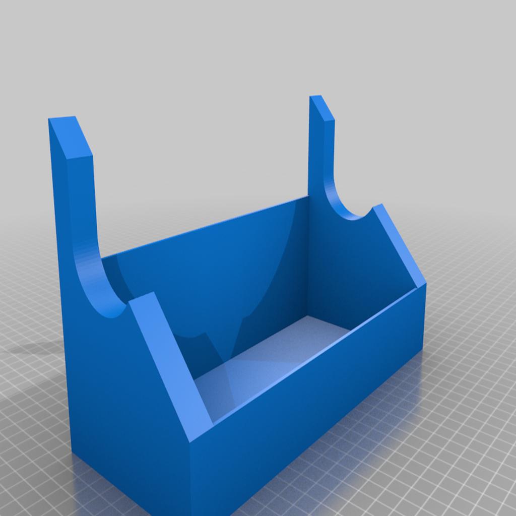 chiappa_rack_v2.png Télécharger fichier SCAD gratuit Pistolet à air comprimé et porte-épée avec étagère • Objet pour impression 3D, terraprint