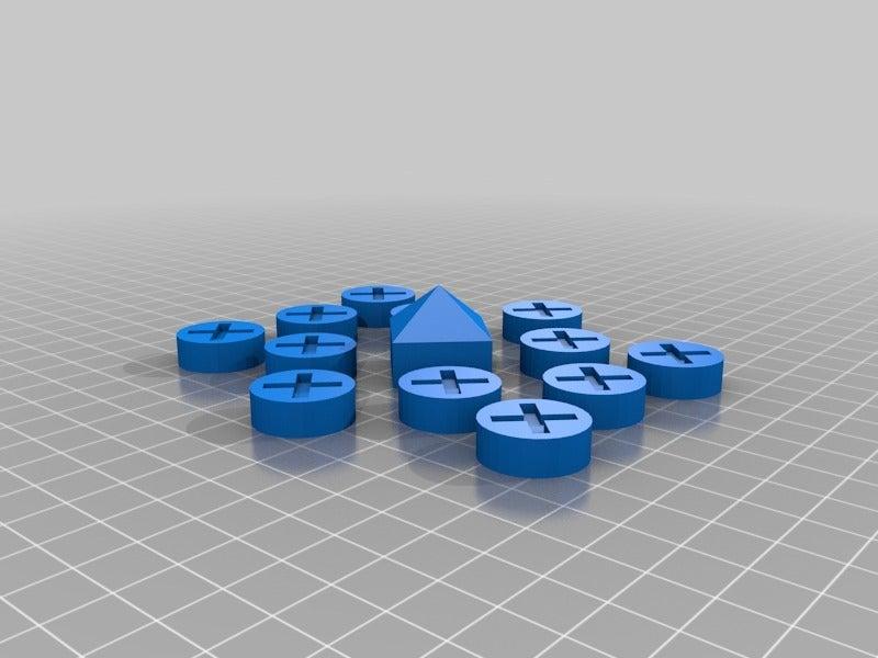 b6f5b2dee1fb346de8d17a49f77e763b.png Download free SCAD file Ludus Latrunculorum Board Game Set • Model to 3D print, terraprint