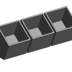 Télécharger fichier STL Boîte de pots de fleurs_01 / Pot de succulents_01, vanessabarraza56