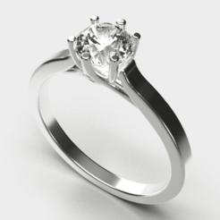Download 3D printing designs Engagement Ring , diogorodrigues1990