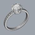 Download 3D printer model English setting ring, diogorodrigues1990