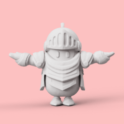 1.png Download STL file FALL GUYS: ULTIMATE KNOCKOUT MEDIEVAL SKIN / PRAISE THE SUN! • 3D printer template, chileimpresiones3d