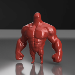 macizo1.png Download STL file Among Us Muscle Crewmate Imposter / Among Us mamadisimo • 3D printable design, chileimpresiones3d