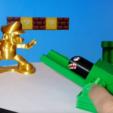 Download STL file Bullet Bill launching platform • 3D printer model, LiraRock