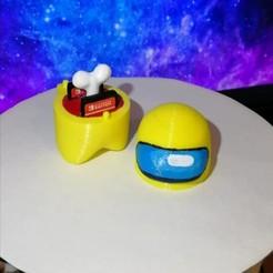 Download STL file Among Us Nintendo switch box games • 3D printer model, LiraRock