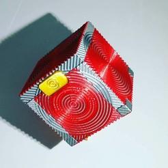 Descargar archivo STL Cubo de almacenamiento para tarjetas SD y MicroSD • Modelo para imprimir en 3D, LiraRock
