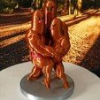 Download STL file Dugtrio Funny 3D print model • 3D print object, LiraRock