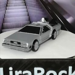 Descargar archivo STL DeLorean DMC-12 (Regreso al futuro) PRINT-IN-PLACE • Plan para imprimir en 3D, LiraRock
