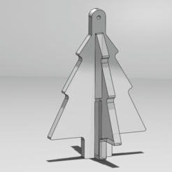 render.png Download free STL file Tree Ornament • 3D printable design, Lamblab