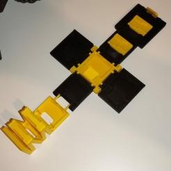 Descargar archivo STL 12 en 1 Cubo de almacenamiento para cartuchos de juegos de Nintendo Switch y tarjetas MicroSD • Objeto para imprimir en 3D, haveac00kie