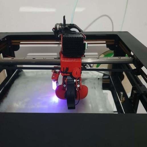 Download free STL file Hero Me Gen5 mount for twotrees sapphire corexy series • 3D printing design, LuciusDante