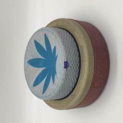 IMG_20200801_003700_1.jpg Download STL file Herb Grinder 4.20 • 3D print model, SparkRust