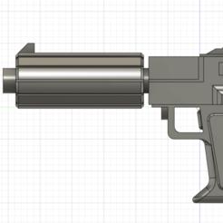 Télécharger STL gratuit Le pistolet Commando de Fordo, techpriestominous