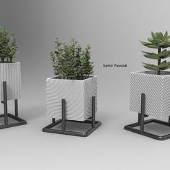 untitled.158.jpg Télécharger fichier STL vase, vase de soutien • Plan imprimable en 3D, samirpasc