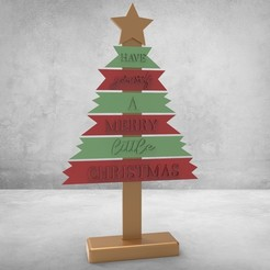untitled.78.jpg Download STL file Arvore Natal • 3D printer template, samirpasc