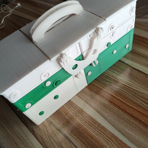 1608827781260.jpg Download STL file Multiple container ( closed 180x370mm) construction Contenitore multipla trasportabile Multibox • 3D printable design, mikifly10