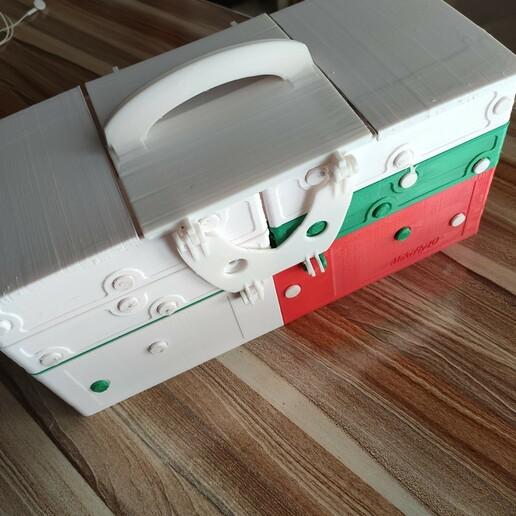 1608827781258.jpg Download STL file Multiple container ( closed 180x370mm) construction Contenitore multipla trasportabile Multibox • 3D printable design, mikifly10