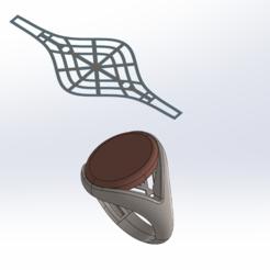 Download 3D printer designs stone ring, asadyshokoufeh