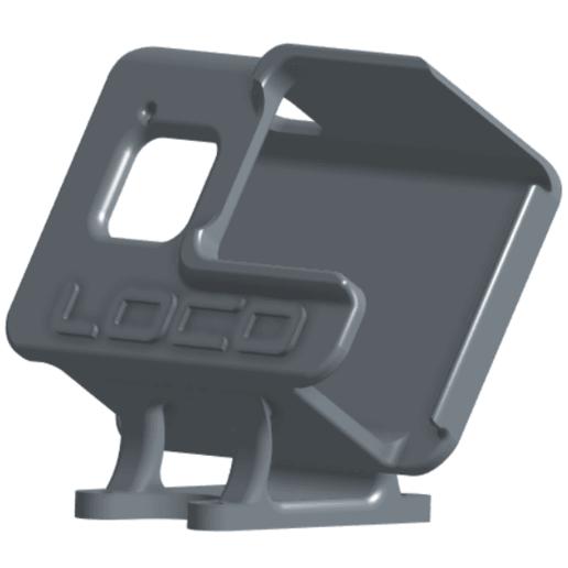 Download STL file Impulse RC Apex Hero 8 Mounts & Arm Guard • 3D printable model, RobsLoco
