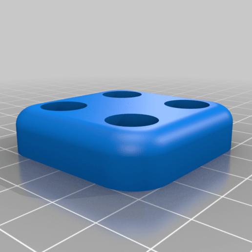 Download free STL file Ender 3 Riser Feet • 3D printer design, RobsLoco