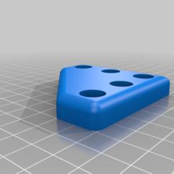 Télécharger objet 3D gratuit Extrusion 2020 Corner Feet pour imprimante 3D, RobsLoco