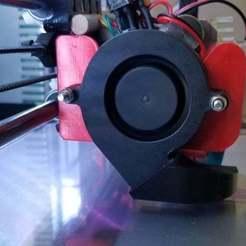20200307_101619.jpg Télécharger fichier STL gratuit E3D Titan Aero Side 5015 Fan Mount • Plan à imprimer en 3D, RobsLoco
