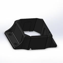 Download 3D printer designs Fanatec Podium Killswitch Bracket for 80x20 Machifit profile, Hasselosater