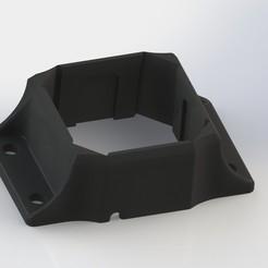 Fanatec Podium Killswitch bracket no holes renderring.JPG Télécharger fichier STL Fanatec Podium Killswitch Bracket pour profil 80x20 Machifit • Modèle à imprimer en 3D, Hasselosater