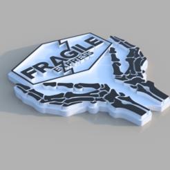 Fragile_Magnet_v2.png Download free STL file Fragile Express - Death Stranding • 3D printer model, Hemoner