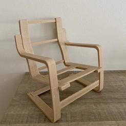 IMG_4552.jpg Download STL file Poäng ikea wrist chair • 3D printing object, Cultsanonimo