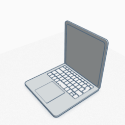 Download 3D model Macbook, Cultsanonimo