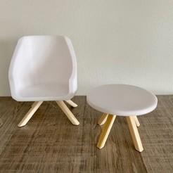 image0.jpeg Download STL file Chair • 3D printing design, Cultsanonimo