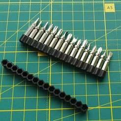20200620_190446.jpg Télécharger fichier SCAD gratuit Petit organiseur 4mm bits 1-20pcs • Plan à imprimer en 3D, ne100r