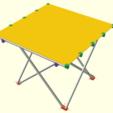 Download free 3D printer files Compact folding table, ne100r