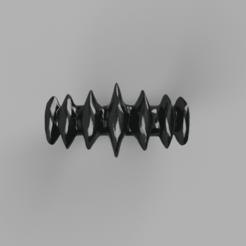 Blades_ring_Brush5.png Download STL file Ring of Blades • Model to 3D print, WorldOfPoligons