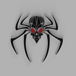 Spider_Skull.png Télécharger fichier OBJ Spider-Skull • Objet à imprimer en 3D, WorldOfPoligons