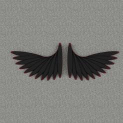 Cults.png Download OBJ file Wings • 3D print model, WorldOfPoligons