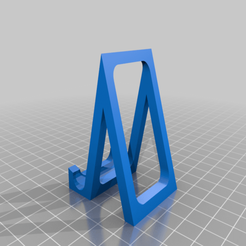 Phone_stand.png Download free STL file Widely compatable phone stand • 3D printing model, Ender3PrintingFan1