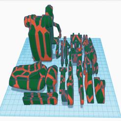 Download free STL file Dual-Color remix of B1 Battle Droid • 3D print design, Ender3PrintingFan1