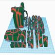 Télécharger fichier STL gratuit Remix bicolore de B1 Battle Droid • Objet imprimable en 3D, Ender3PrintingFan1