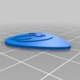 Télécharger fichier STL gratuit Guitar Pick 351 Alphabet de forme • Objet à imprimer en 3D, Ender3PrintingFan1