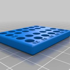 Télécharger fichier STL gratuit Trieur de buses (Ender 3) (24 pack) • Objet imprimable en 3D, Ender3PrintingFan1