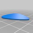 Blank_351_pick.png Télécharger fichier STL gratuit Collection unique de plectres pour guitare • Design pour imprimante 3D, Ender3PrintingFan1